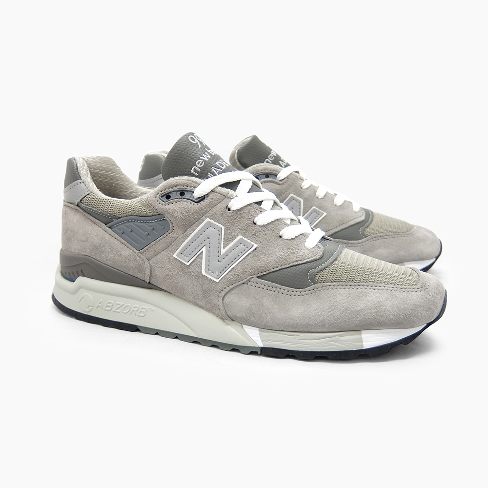 gray new balance shoes