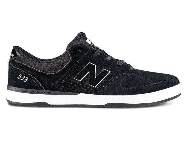 new balance black and white